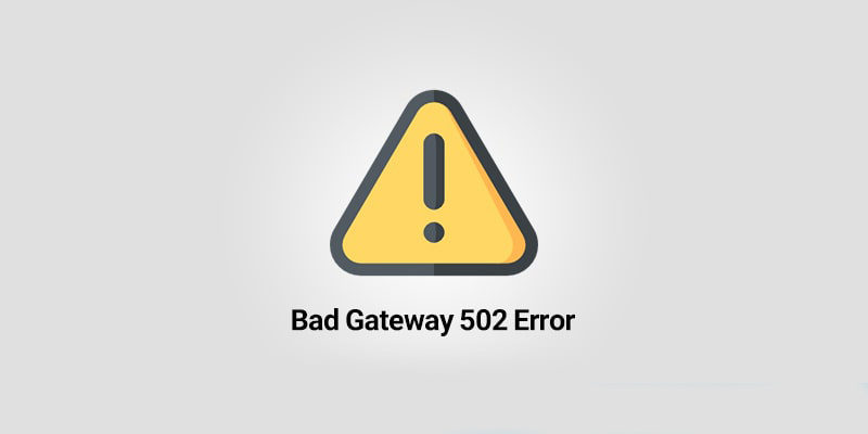 عیب یابی و رفع خطای 502 bad gateway