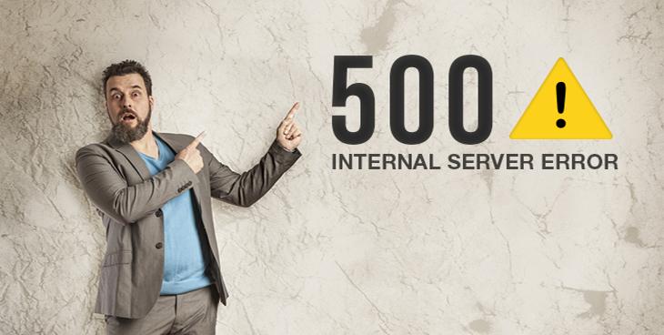 رفعخطای 500 internal server