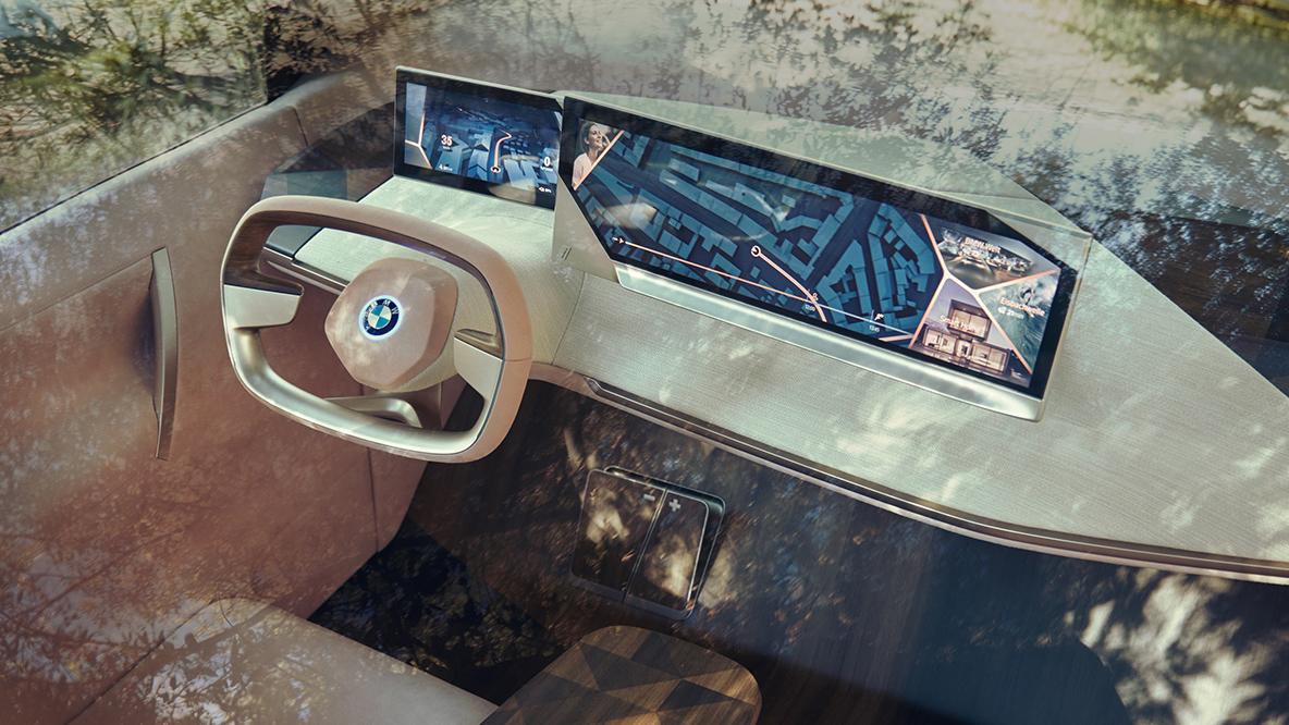 امکانات فوق العاده BMW VISION INEXT