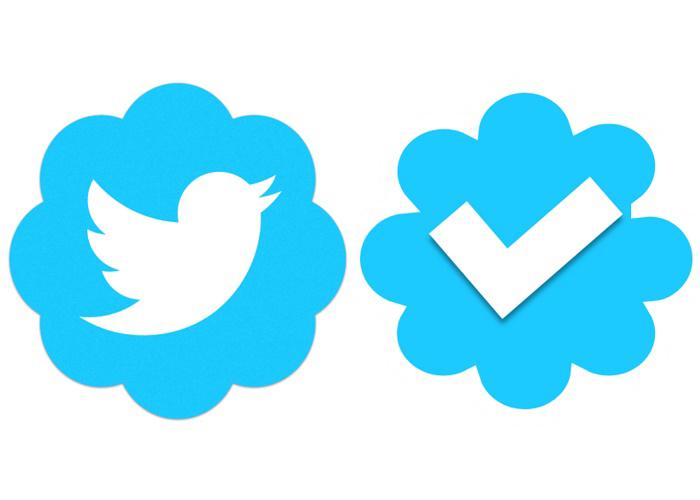 نشان آبی یا تائید توئیتر