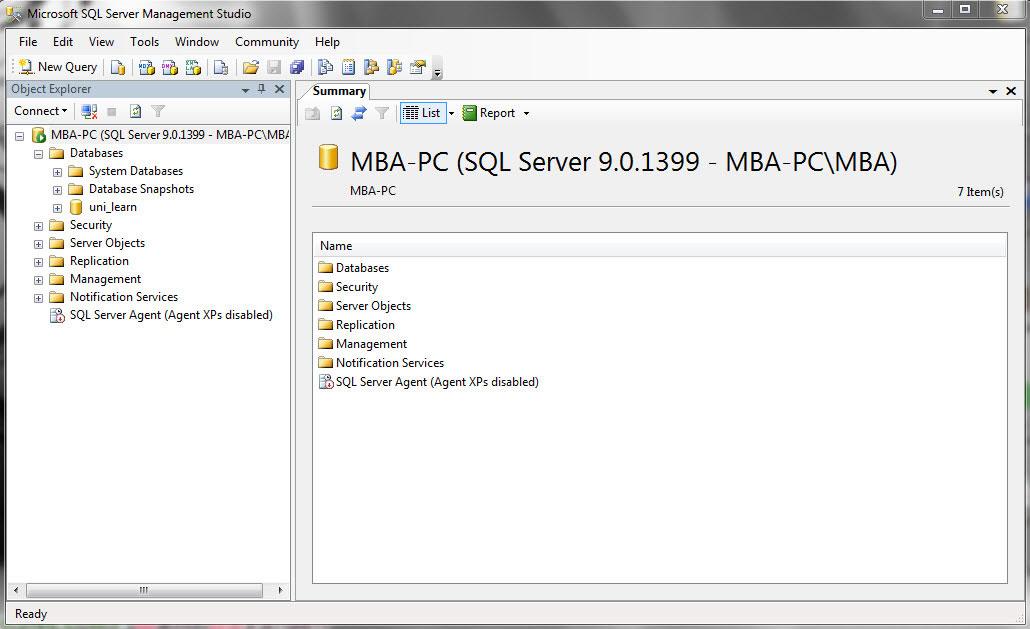 پروژه sql server