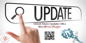 افزونه به روزرسانی url وردپرس – افزونه velvet blues updates urls