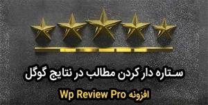 افزونه وردپرس wp review pro – افزونه ستاره دار کردن مطالب در گوگل برای وردپرس