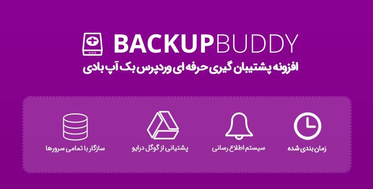 افزونه Backup Buddy