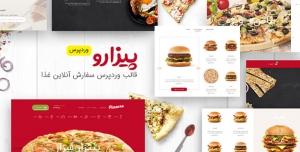 قالب وردپرس پیزارو – قالب Pizzaro – پوسته حرفه ای سفارش آنلاین غذا | پیزارو اورجینال